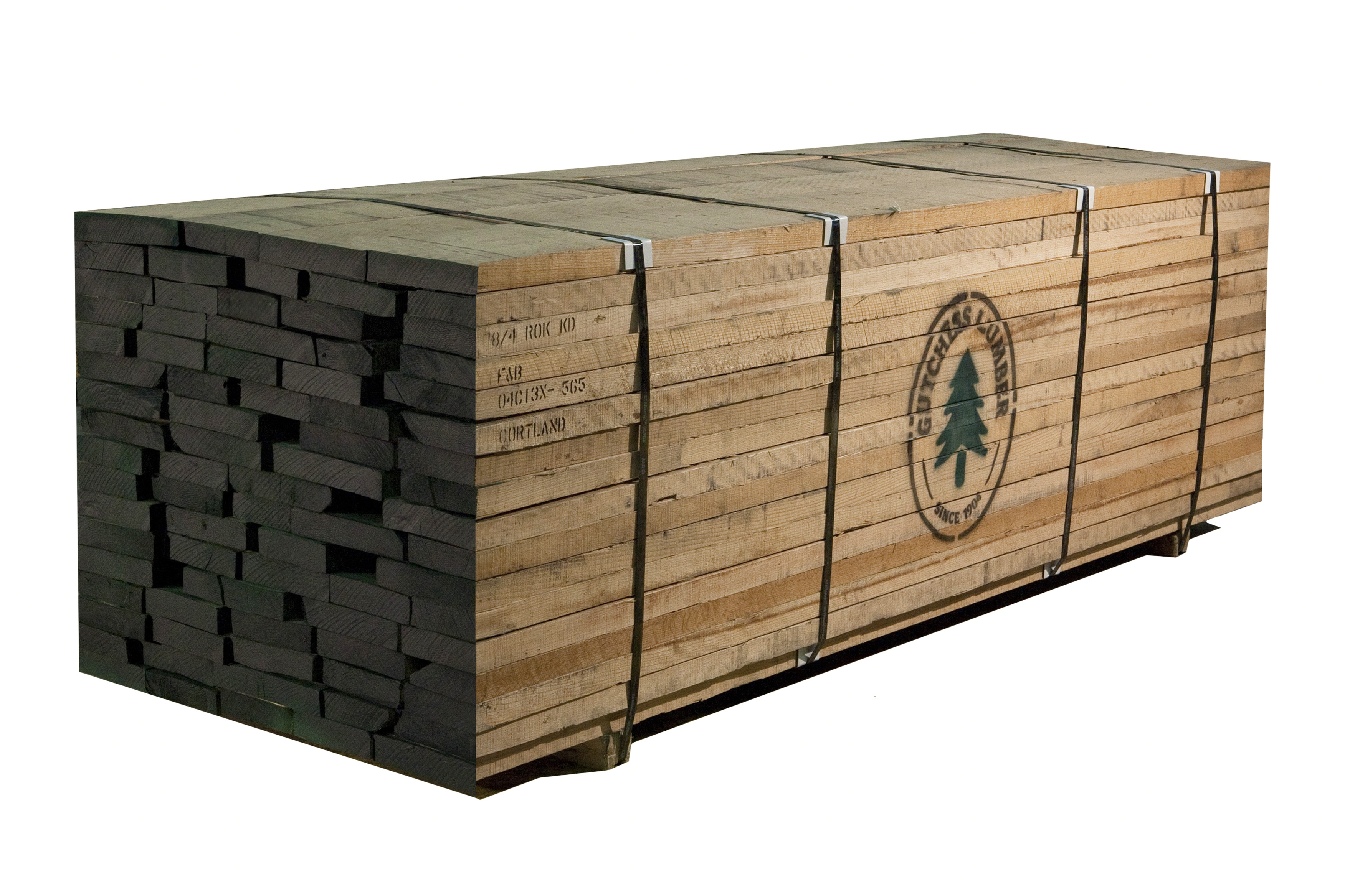 Northern red oak lumber hardwood